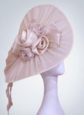 """Свадебная шляпка """"Дезире"""" (Арт. 001)"""