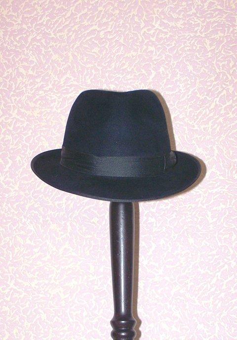 """Мужская шляпа """"Trilby"""" (Арт. 007)"""