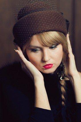 Фетровая шляпа (Арт. 079)