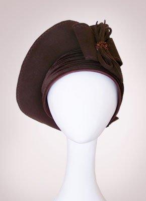 "Фетровая шляпа ""Доминика"" (Арт. 012)"