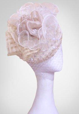 """Свадебная шляпка """"Маргарита"""" (Арт. 003)"""