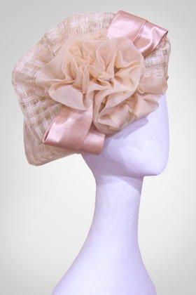 """Свадебная шляпка """"Маргарита"""" (Арт. 005)"""